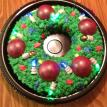 Lighted Wreath Cake